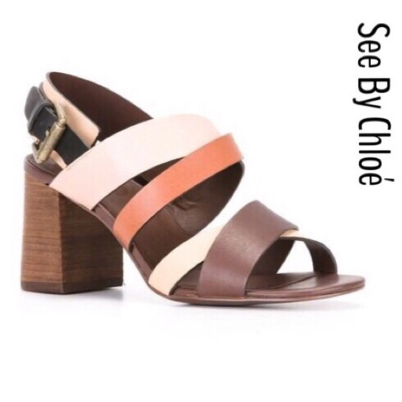 See By Chloe Shoes - 🍾🎉Host Pick SEEBYCHLOE Brown Strapped Sandals.
